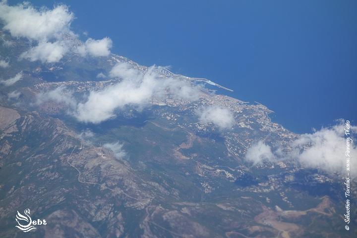La Corse vue du ciel © Sébastien TORCHIO, www.Annecy.Photo