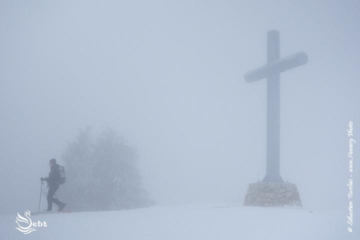 Croix des Bergers dans les Bauges, Plateau du Revard - © Sébastien TORCHIO, www.Annecy.Photo