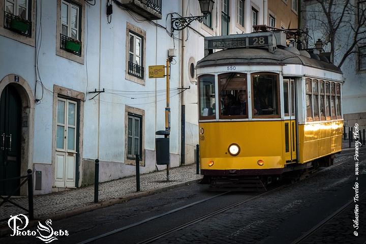 Tram N°28 - Lisbonne - © Sébastien TORCHIO