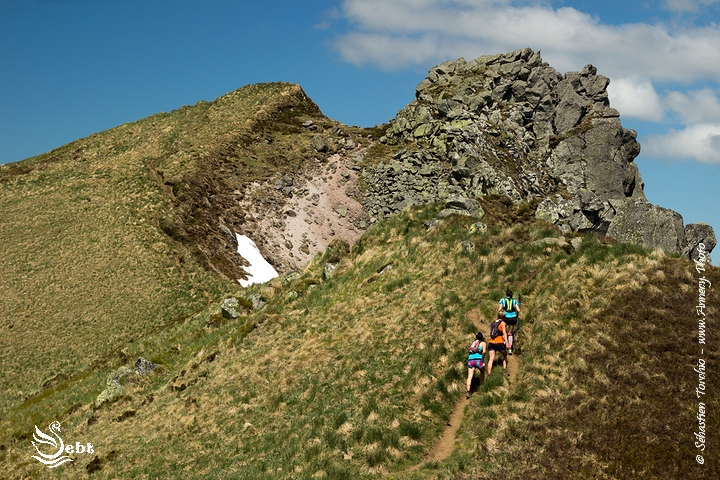 Trail Running en Pays de Sancy - © Sébastien TORCHIO, www.Annecy.Photo