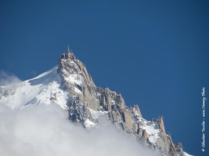 Aiguille du Midi à Chamonix © Sébastien TORCHIO