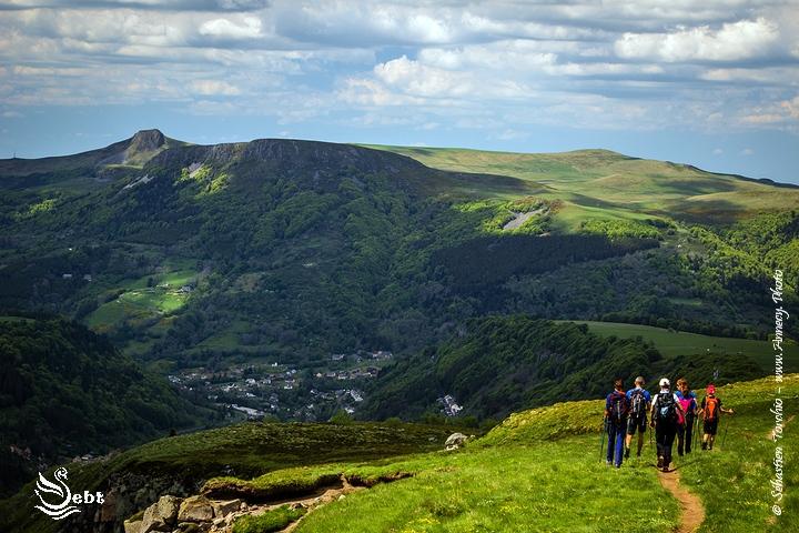 Randonnée, Trek et Trekking en Auvergne - © Sébastien TORCHIO, www.Annecy.Photo