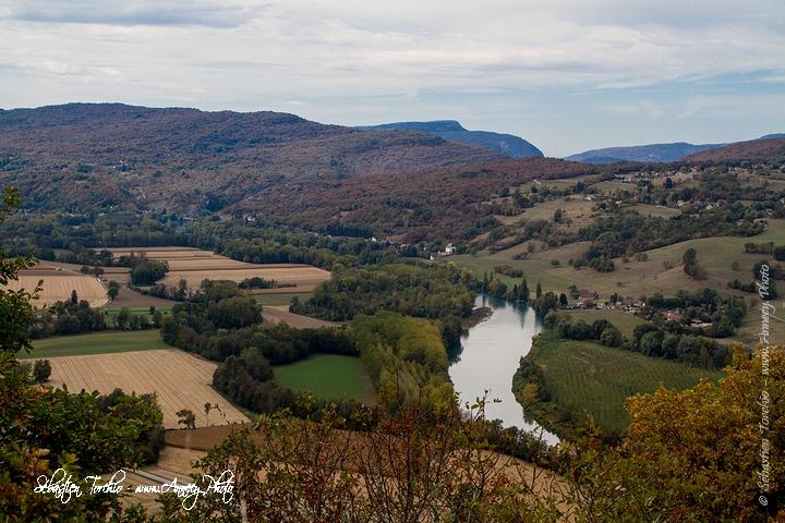 Couleur d'Automne sur le Rhône et le Pays de Yenne © Sébastien TORCHIO, www.Annecy.Photo