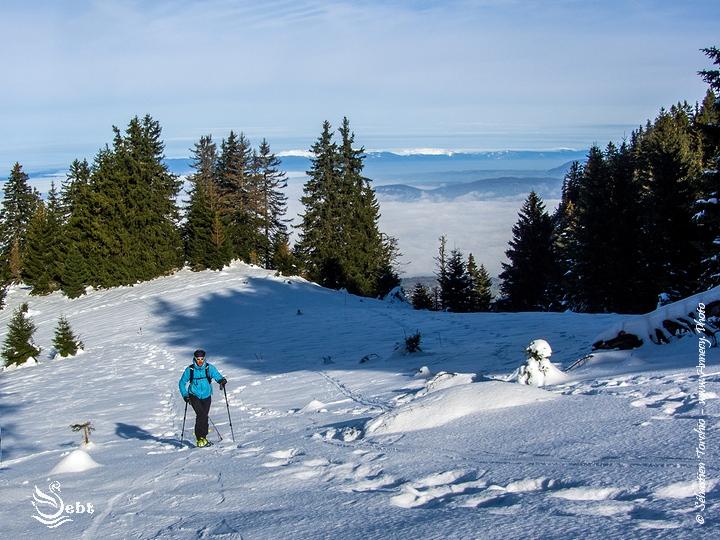Ski de Randonnée au Semnoz - © Sébastien TORCHIO, www.Annecy.Photo