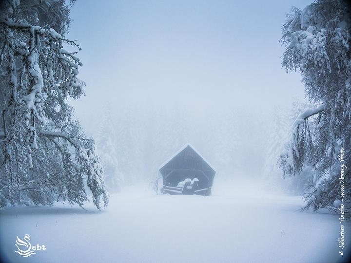 Un hiver dans les Bauges - © Sébastien TORCHIO, www.Annecy.Photo