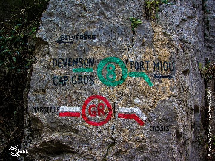 Itinéraire de Randonnée à travers le Parc national des Calanques © Sébastien TORCHIO, www.Annecy.Photo