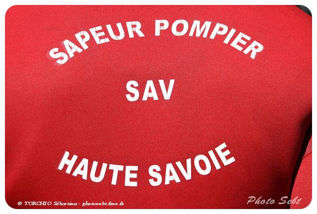 Sauveteur aquatique Sapeurs-pompiers (SAV) - © TORCHIO Sébastien