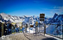 Porte Vallee Blanche Massif Mont-Blanc