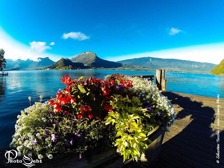 Baie de Talloires, Lac d'Annecy - © Sébastien TORCHIO, www.Annecy.Photo