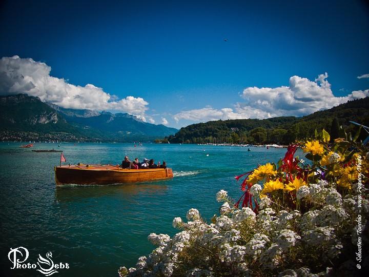 Balade sur la Lac d'Annecy © Sébastien TORCHIO, www.Annecy.Photo