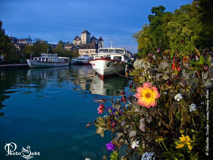 Le Port d'Annecy - © Sébastien TORCHIO, www.Annecy.Photo