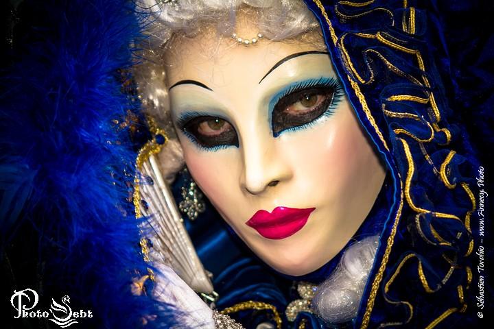 Masque du Carnaval Vénitien d'Annecy - © Sébastien TORCHIO, www.Annecy.Photo