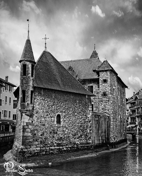 Palais de l'Ile, Vieille Prisons d'Annecy - © Sébastien TORCHIO, www.Annecy.Photo