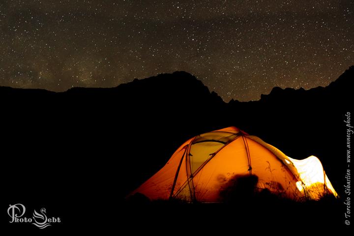 Bivouac photographique dans le Massif du Mont-Blanc - © TORCHIO Sébastien