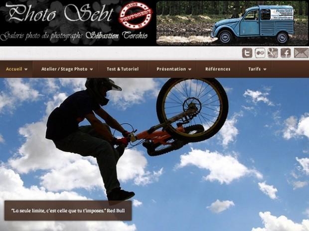 Un nouveau site Responsive Web design